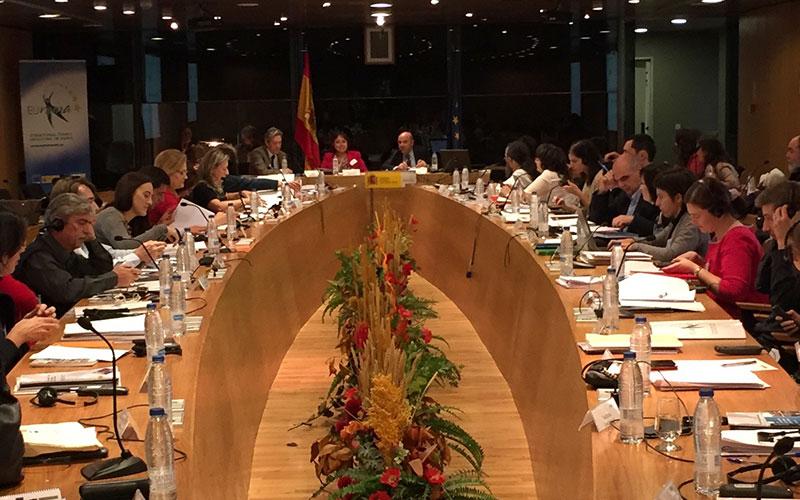 EURoma celebra su última reunión de socios del periodo 2007-2013 en Madrid