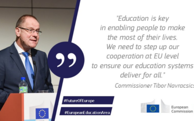 The European Commission sets out new strategy for quality and inclusive education