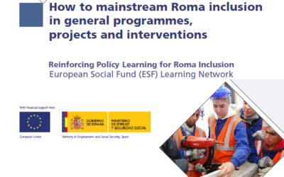 EURoma+ Network Handbook: How to mainstream Roma inclusion in general programmes, projects and interventions