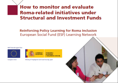 How to monitor and evaluate Roma-related initiatives under Structural and Investment Funds