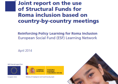Joint report on the use of Structural Funds for Roma inclusion based on country-by-country meetings