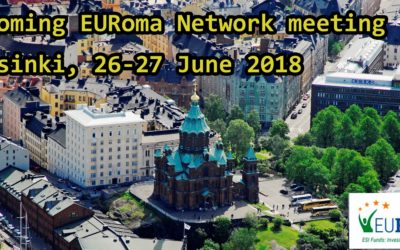 Upcoming EURoma meeting, Helsinki 26-27 June 2018