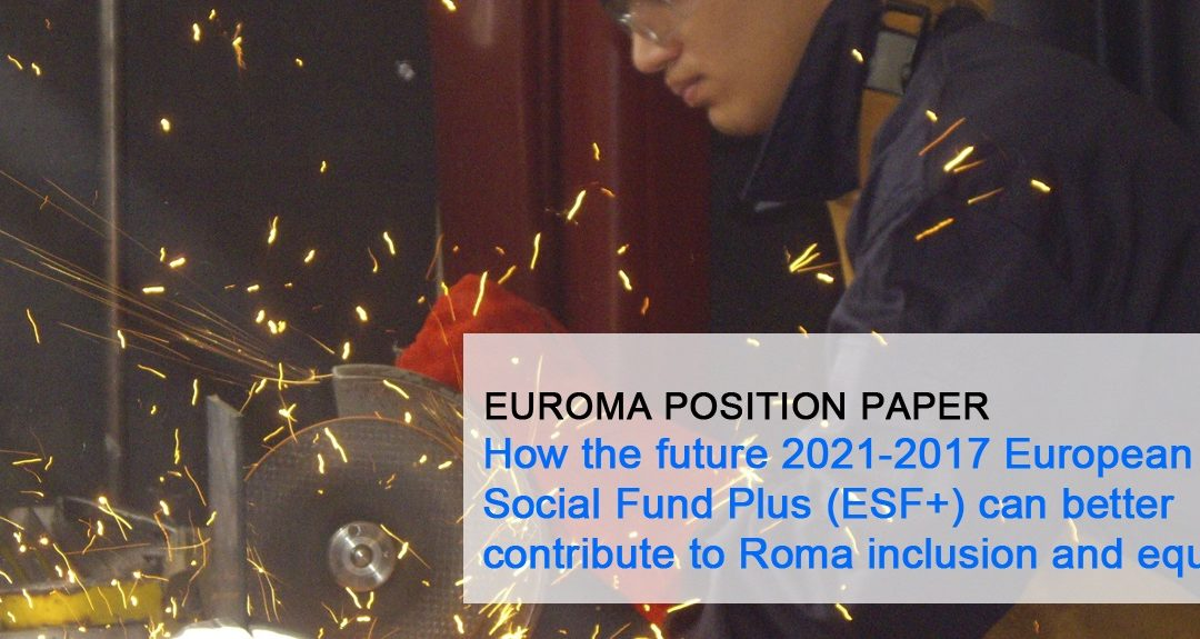 EURoma's recommendations on future ESF+ Regulation