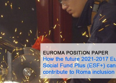 EURoma´s recommendations on ESF+ regulation