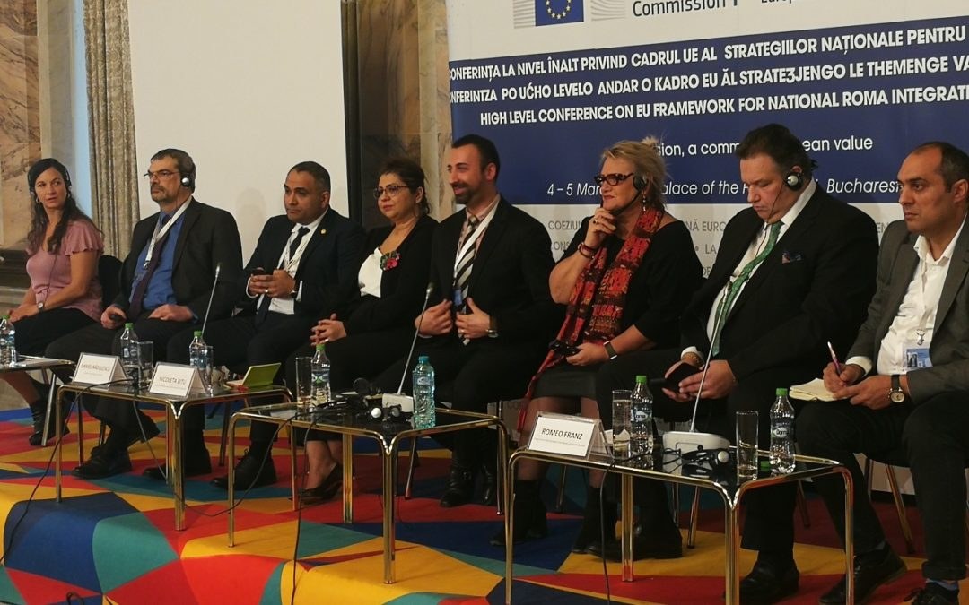 EURoma takes part in Romanian EU Presidency's High-level conference on EU Framework for NRIS