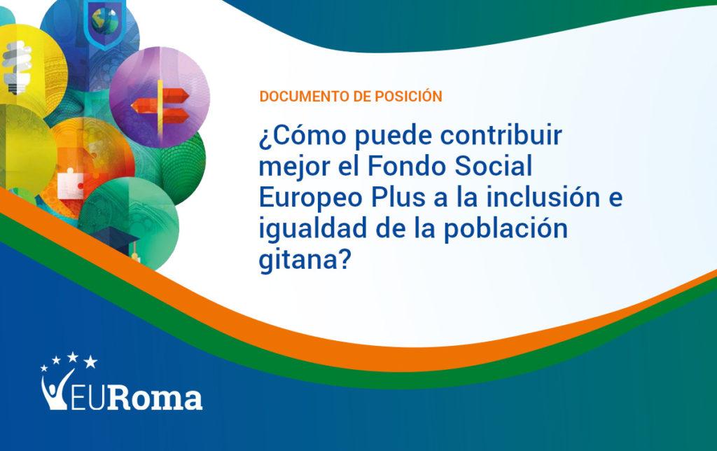 Portada Documento Posición FSE+_ES
