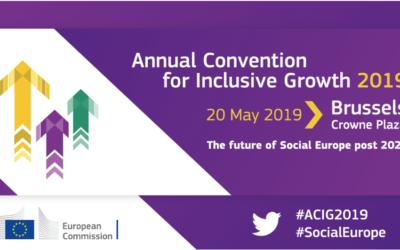 EURoma en la Convención Anual para el Crecimiento Inclusivo organizada por la Comisión Europea