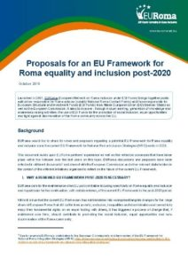 EURoma Position Paper EUFW