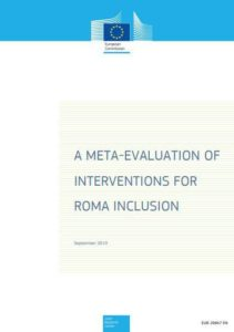 Meta-evaluation of Interventions for Roma inclusion