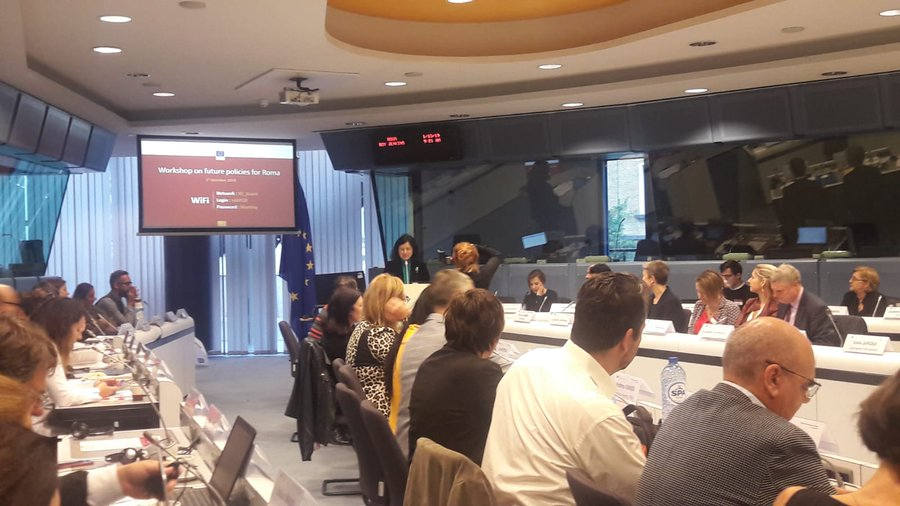 2019.10.01. EC Workshop EU action Roma equality and inclusion