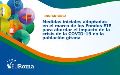 Instantánea de EURoma: uso de los Fondos EIE para abordar el impacto de la crisis de la COVID-19 en la población gitana